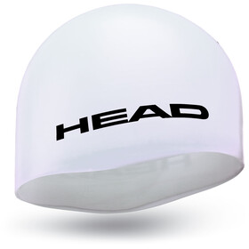 Head Silicone Moulded Berretto, white
